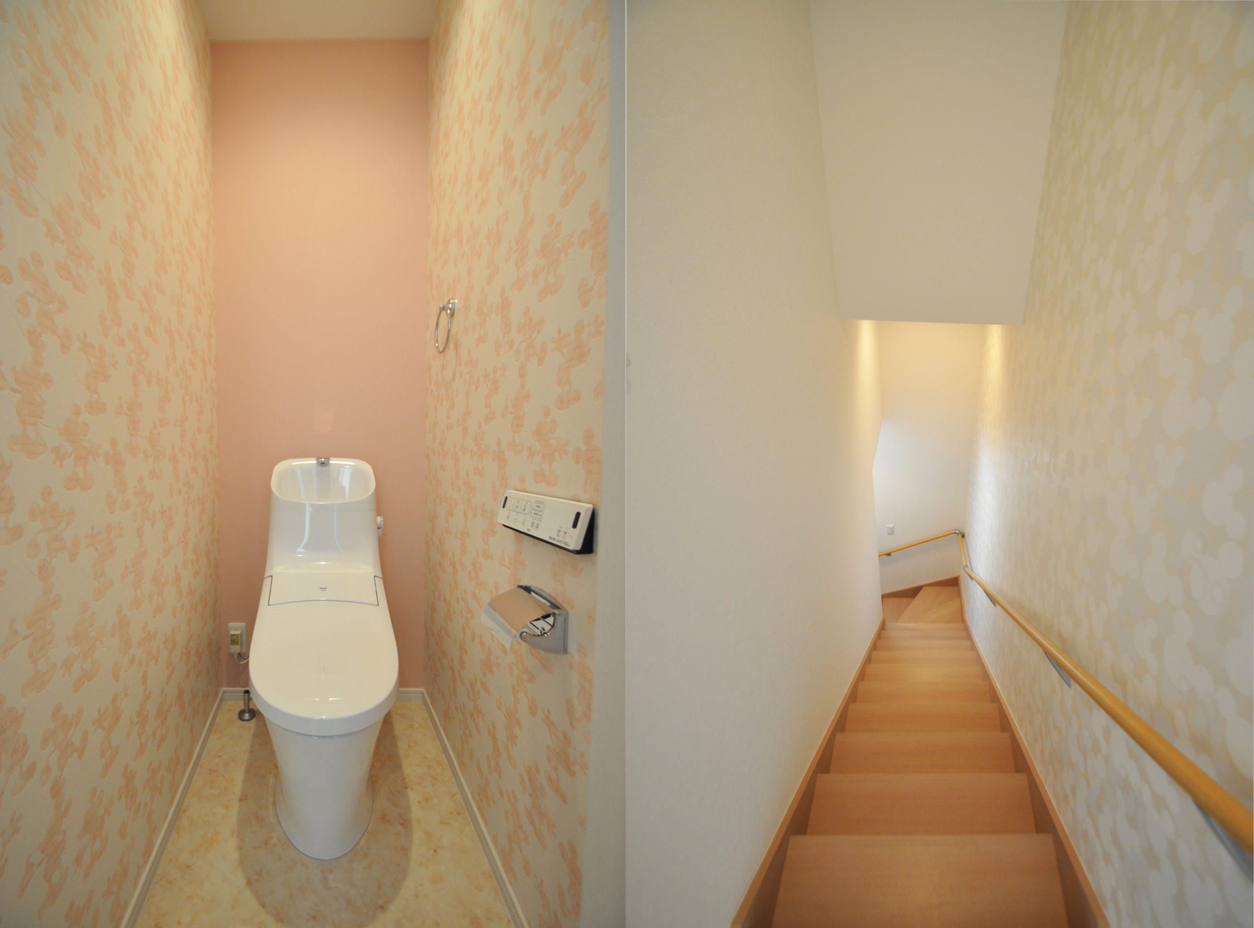 トイレ&階段